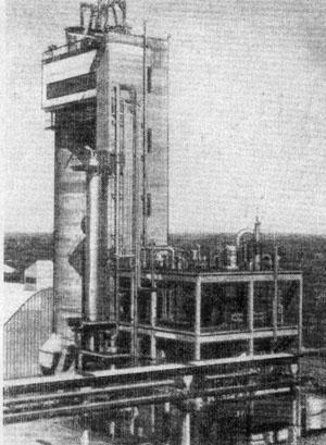 Современная установка для синтеза мочевины из аммиака и углекислого газа